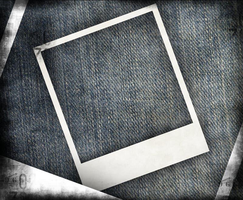 grungy jeans för bakgrund vektor illustrationer