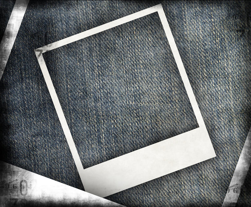 Grungy jeansachtergrond vector illustratie