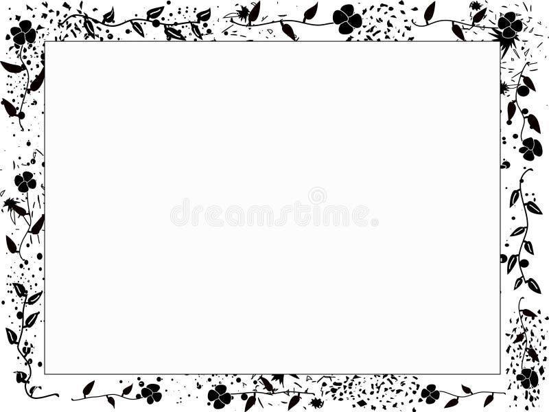 Grungy-kader stock illustratie