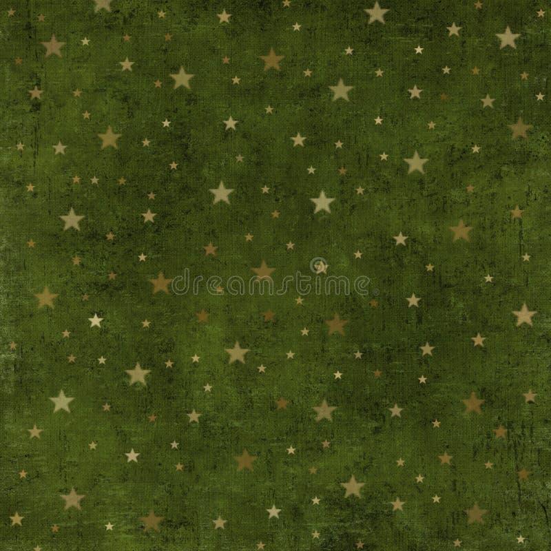 Grungy Kerstmisachtergrond royalty-vrije illustratie