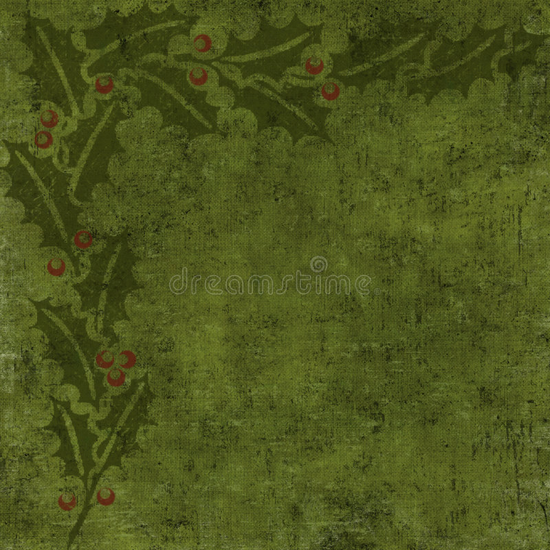 Grungy Kerstmisachtergrond vector illustratie