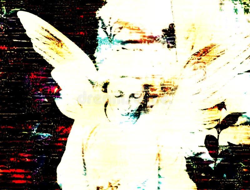 Grungy Kunst stockbild