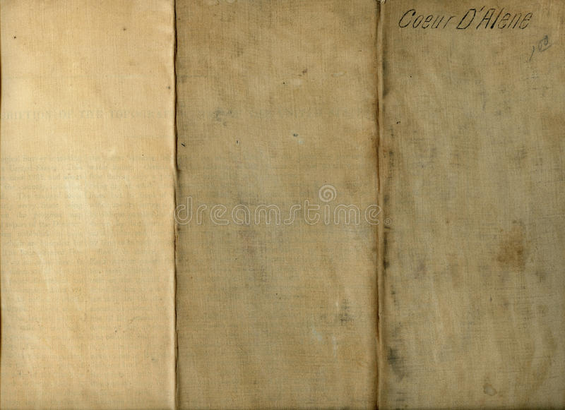 Grungy Old Folded Fabric royalty free stock photo