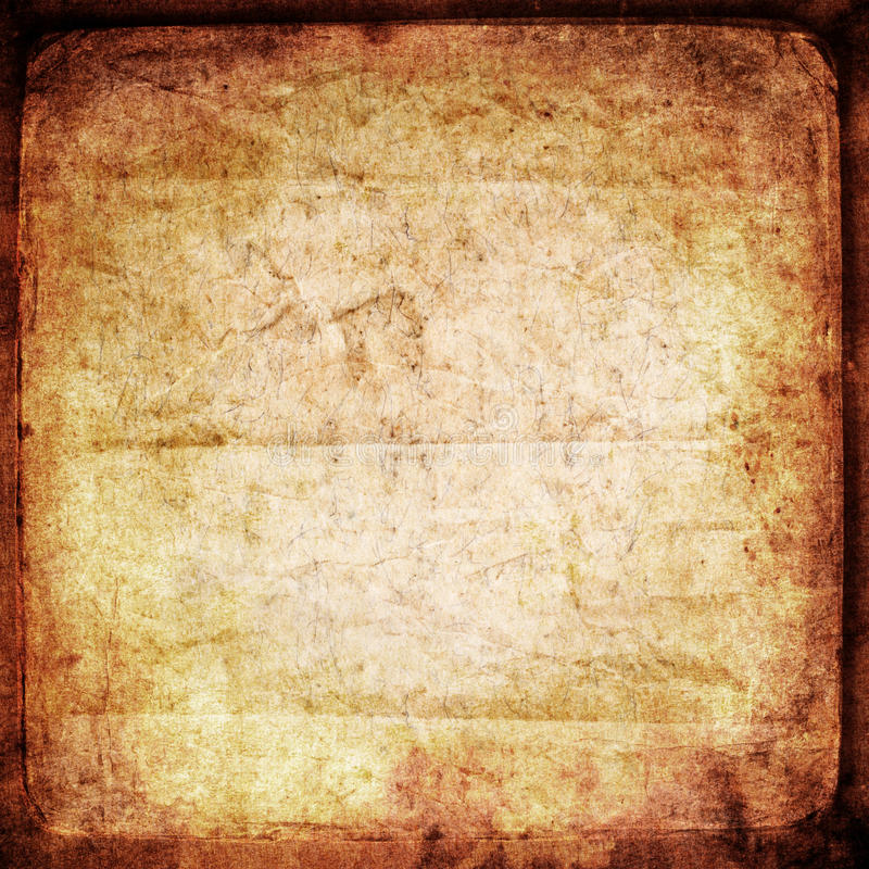 Grungy old paper. Textured background royalty free illustration