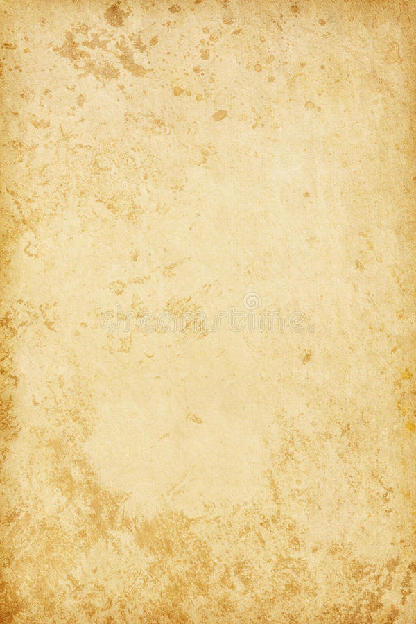 Grungy old paper. Beige background. Grungy old paper stock image