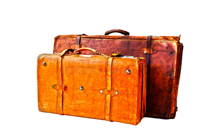 Old Suitcases Part - 50: Download Grungy Old Suitcases Stock Image. Image Of Aged, Fashioned -  35915757