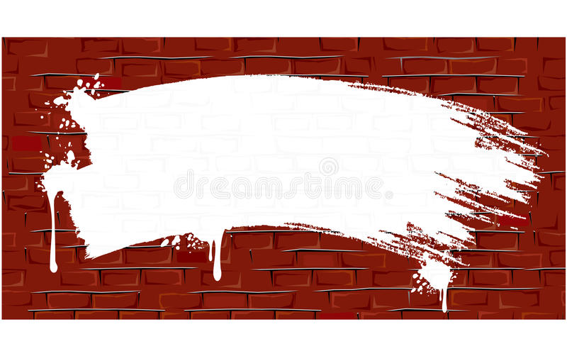 Download Grungy Old Wall stock vector. Image of brickwork, brush - 18218525
