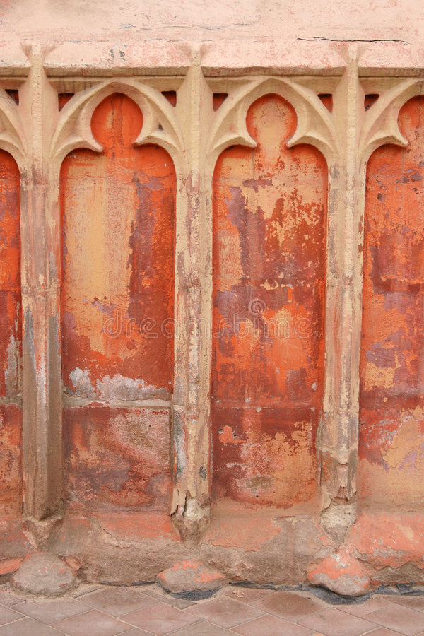 Grungy Old Wall Royalty Free Stock Photos
