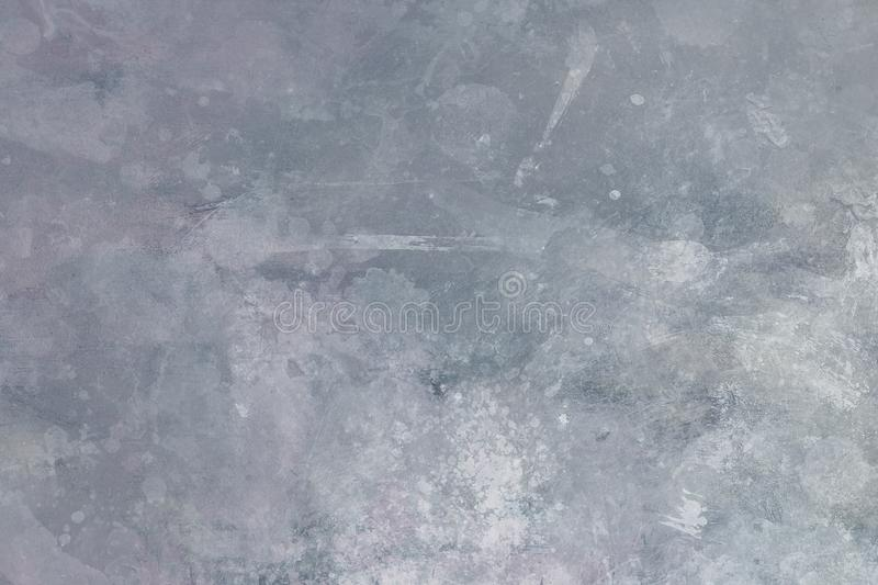 Grungy painting background. Gray abstract painting draft background or texture stock photo