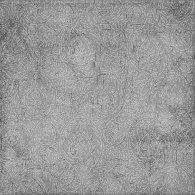 Grungy paisley texture background. A grungy paisley texture background in desaturated color stock photo