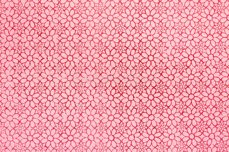 Grungy paper background with classical pattern stock image