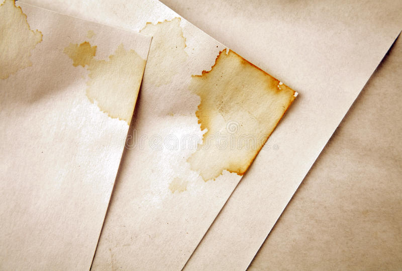 Grungy papers stock photo