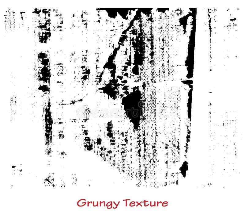 Grungy ręcznie robiony tekstura ilustracja wektor