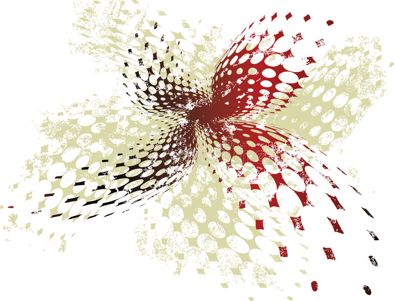 grungy rastrerad röd vektor för baner stock illustrationer