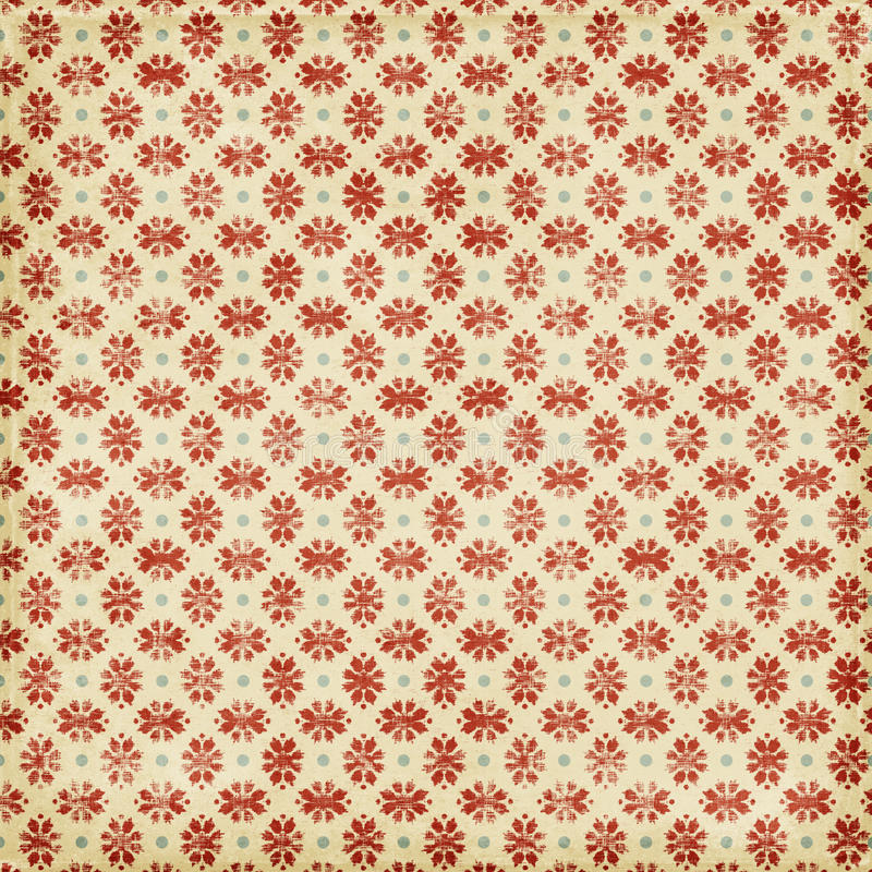 Free Grungy Red Christmas Snowflake Background Stock Photo - 16272550