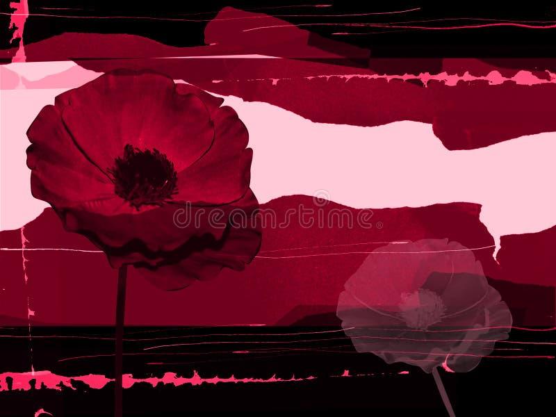 Download Grungy red för ram stock illustrationer. Illustration av ovanligt - 509301
