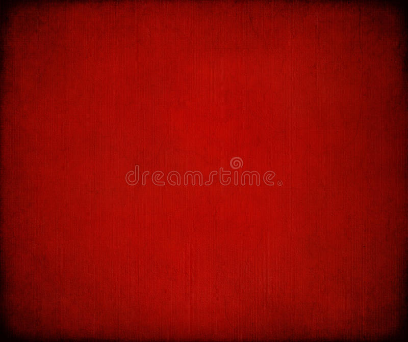 Grungy red marbled ribbed canvas background royalty free stock photos