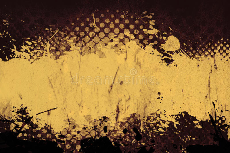 Download Grungy Rusted Layout stock illustration. Illustration of halftone - 16651097
