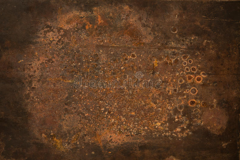 Grungy rusty metal texture stock photography