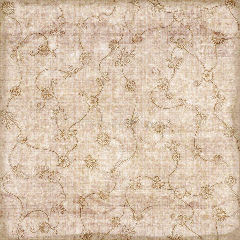 Grungy Sepia gekopierter Hintergrund lizenzfreies stockfoto