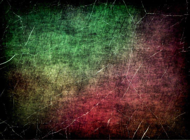 Grungy skrapad mångfärgad textur som abstrakt bakgrund. vektor illustrationer