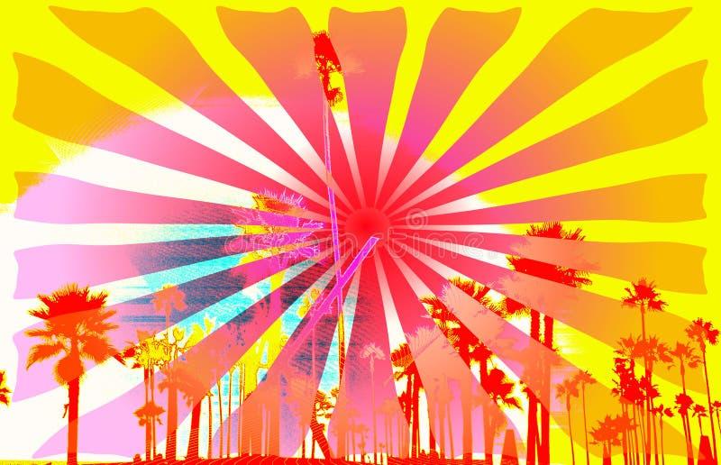 Download Grungy surf background stock illustration. Illustration of surfboard - 8463824
