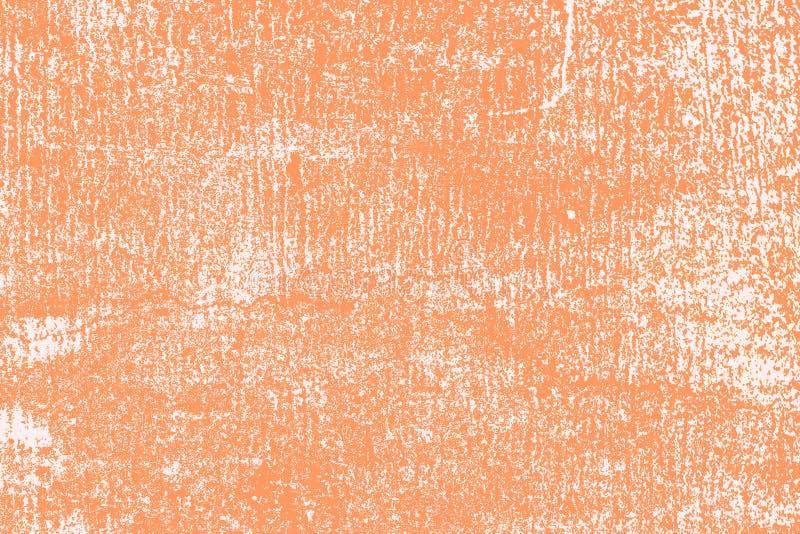 Grungy tekstury tła beton kapie starej pomarańcze ściany brudu szorstkiego surfac obrazy stock