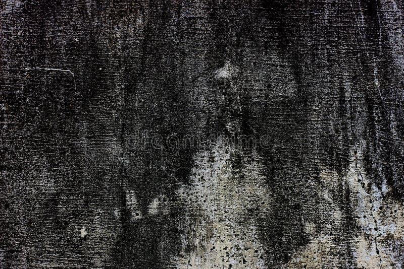 Grungy tekstury tła betonu obcieknięcia ściany brudu ciemna szorstka powierzchnia fotografia stock