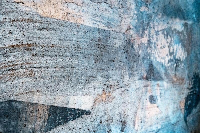 Grungy textur med färgrik belysning royaltyfri fotografi
