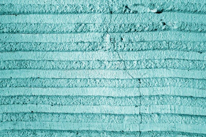 Grungy textura de pared de cemento en tono cian fotos de archivo libres de regalías