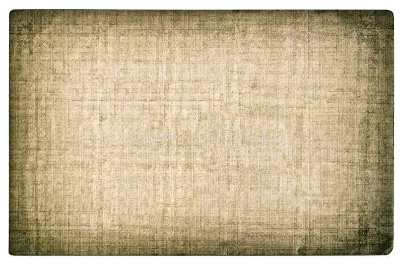 Grungy texturerad pappers- bakgrund Karaktärsteckning för fotokortkanter royaltyfria foton