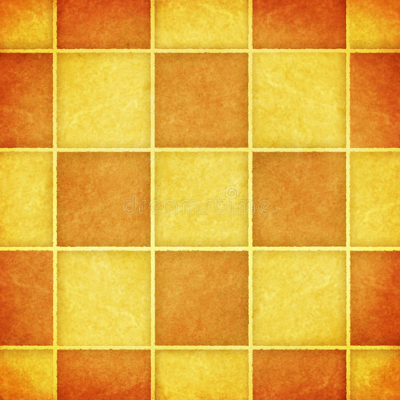 Grungy tiles royalty free illustration