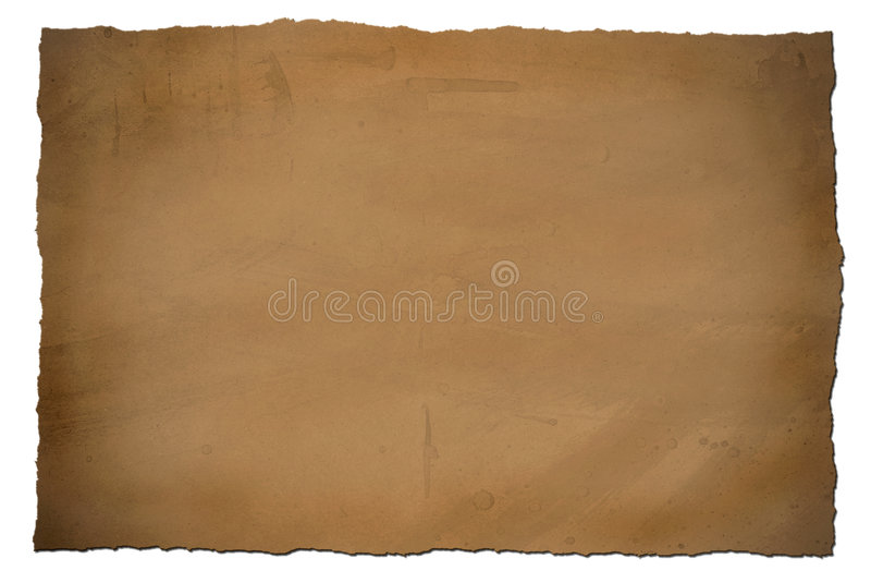 Grungy Uitstekend Document stock foto's