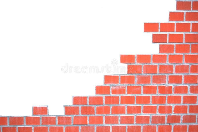 grungy vägg för tegelstenram fotografering för bildbyråer