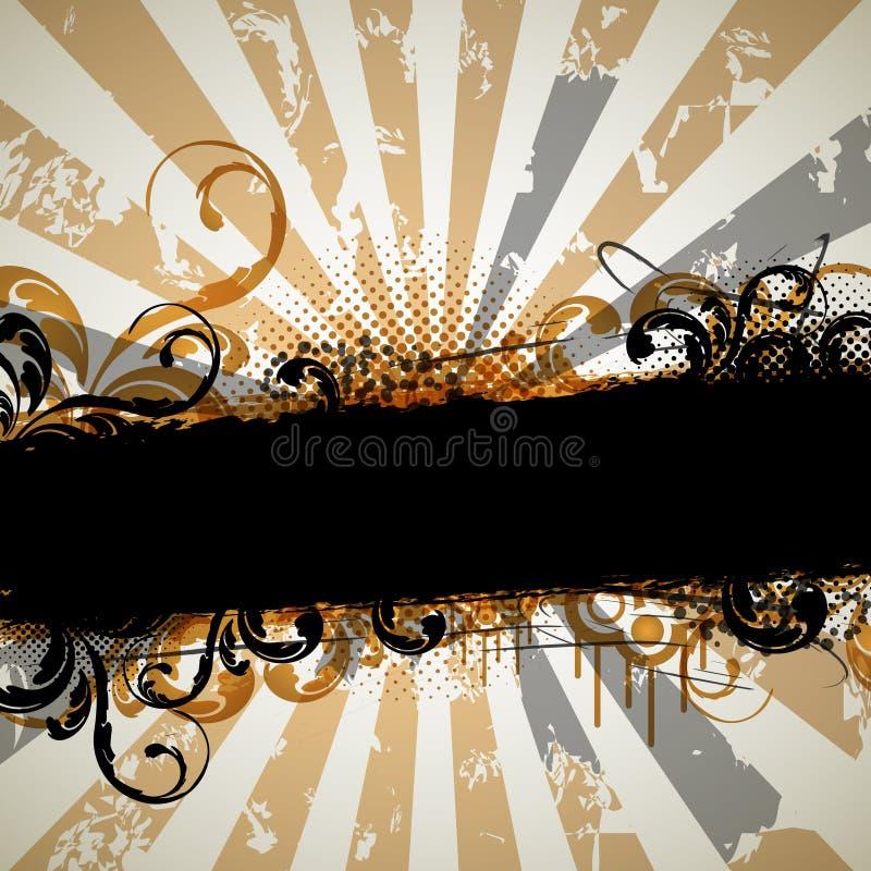 Download Grungy vintage design stock vector. Illustration of artwork - 24154395