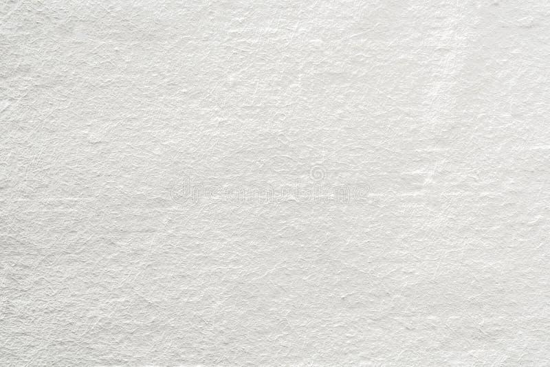 Grungy vit och grå betongväggtexturbakgrund Backgrou royaltyfri bild