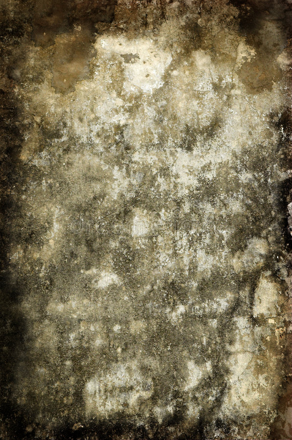 Grungy wall. Close up of grungy wall, suitable for background stock illustration