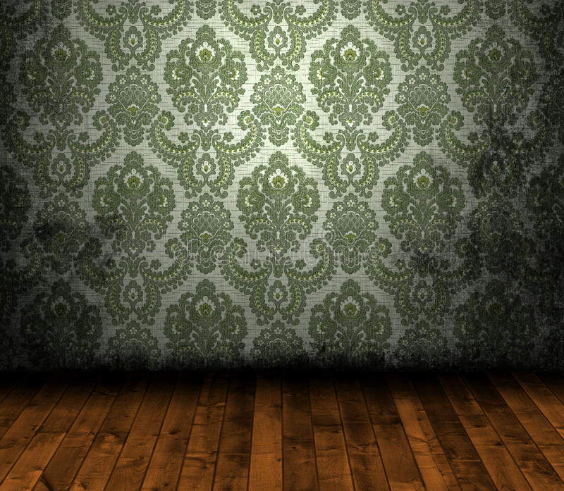 Grungy Wallpaper Stock Images
