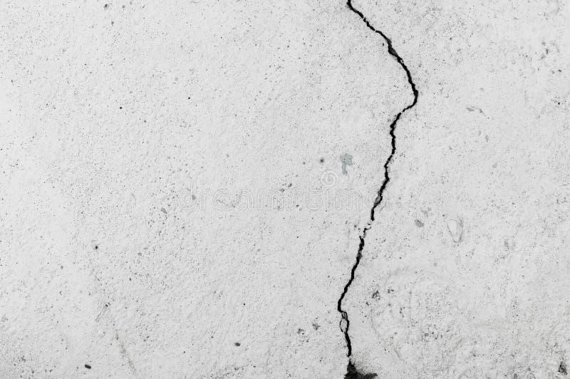 Grungy Wand mit großer Sprungszement-Bodenbeschaffenheit lizenzfreies stockbild