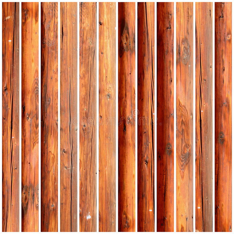 Grungy wooden tiles stock image