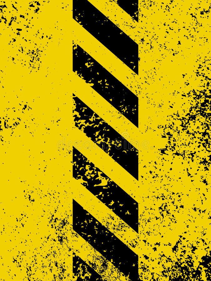 Download A Grungy And Worn Hazard Stripes Texture. EPS 8 Stock Vector - Image: 18370961