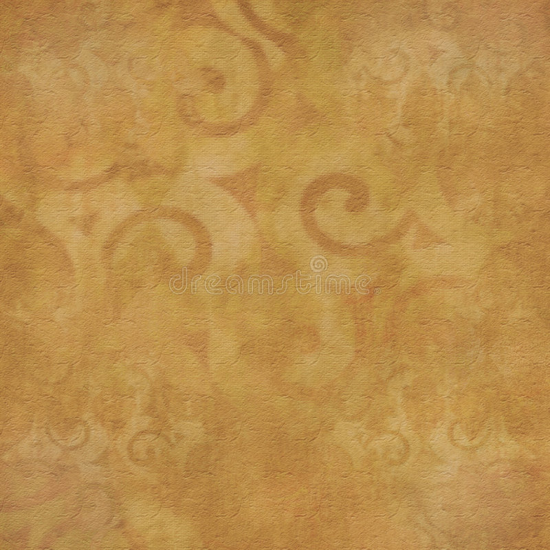 Grungy yellow and brown background vector illustration