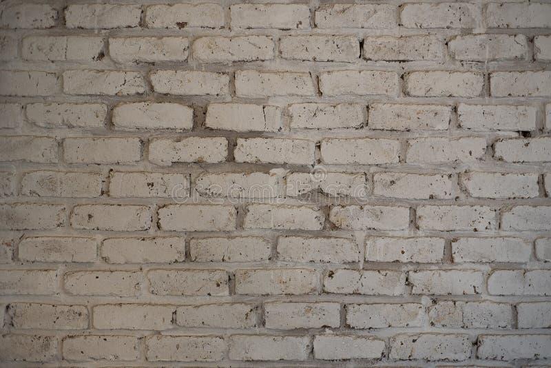 Grungy z grubsza malująca biel ściana obrazy stock