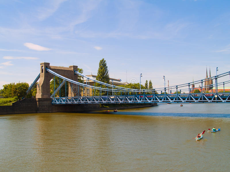 Download Grunwaldzki Bridge In Wroclaw Stock Image - Image: 20628723
