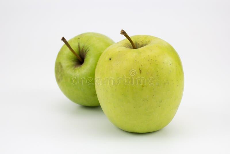 Grupa świezi zdrowi jabłka zdjęcie stock