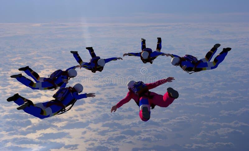 Sport jest w niebie ilustracja wektor