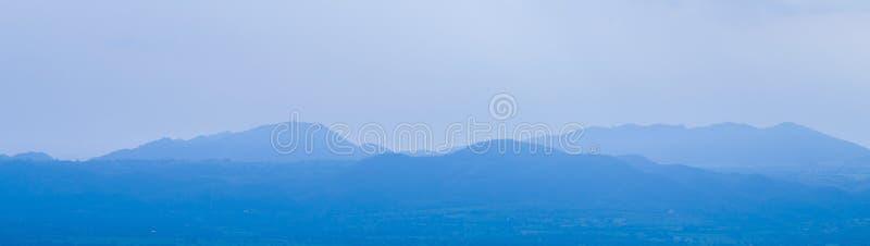 Grupa błękitne gór warstwy w Tajlandia obrazy royalty free