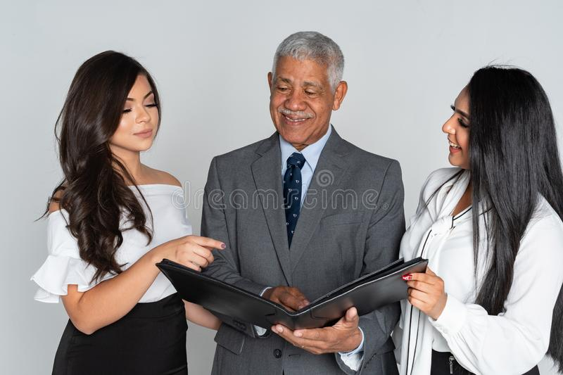 Grupa Biznesowy członek zaspołu Pracować zdjęcie stock