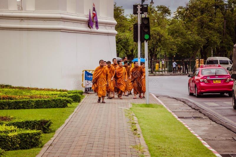 Grupa buddhists obrazy royalty free