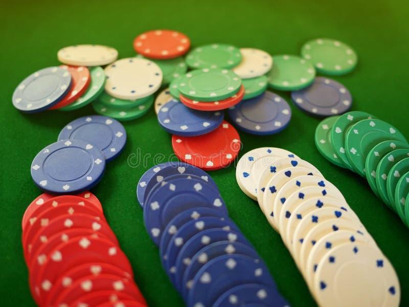 Grupa coloful hazardów układy scaleni obrazy stock